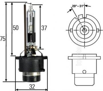 66250 - Ксеноновая лампа D2R