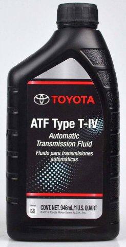 00279-000T4 - Жидкость для АКП Toyota ATF TYPE-T4 - 1 литр США