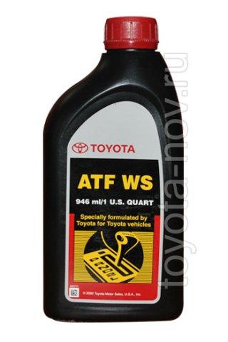 00289-ATFWS - Жидкость для АКП TOYOTA ATF WS  - 1 литр