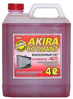 54-027 - Антифриз KYK готовый -40C красный  4 литра