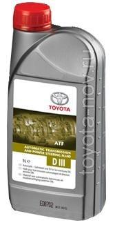 08886-80506 - Жидкость для АКП Toyota ATF D-III 1 литр