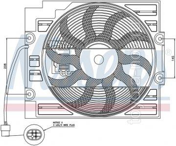 404993S - Вентилятор радиатора BMW 5 E39 (1995- )