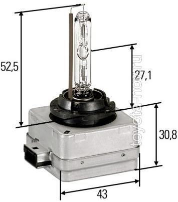66140 - Ксеноновая лампа D1S