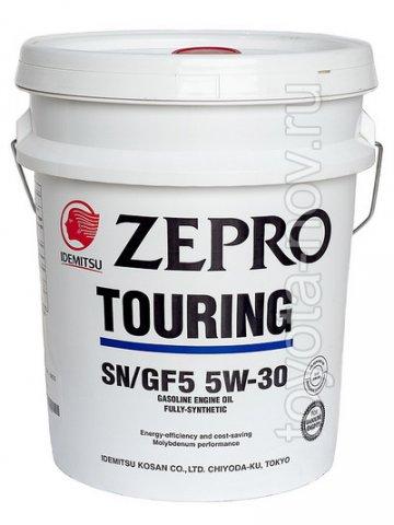 1845-020 - Масло моторное  Idemitsu  ZEPRO   Touring 5W30 SN/GF-5 - 20 литров СИНТЕТИКА