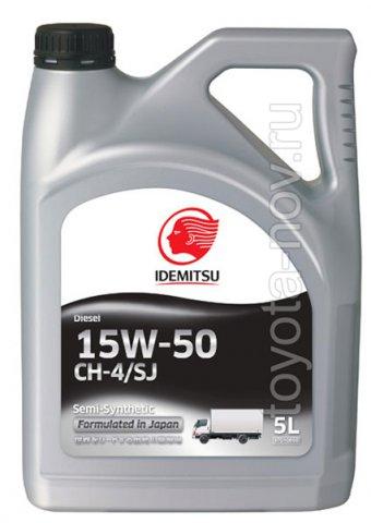 30175012-756 - Масло моторное Idemitsu Diesel 15W40 CH-4/SG -  5 литров
