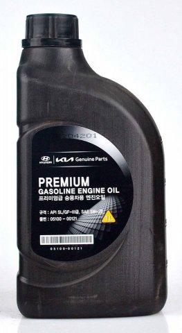 05100-00121 - Масло моторное HYUNDAI  5W20 Premium SL/GF-3 бензин - 1 литр