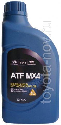 04500-00130 - Жидкость для АКП HYUNDAI ATF MX4 (JWS 3314) - 1 литр