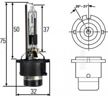 3503K - Ксеноновая лампа D2R