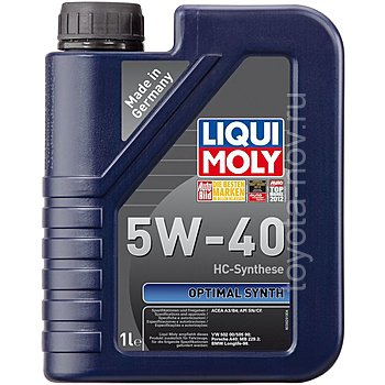 3925 - Масло моторное Liqui Moly Optimal  Synth 5W40 -  1 л