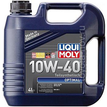 3930 - Масло моторное Liqui Moly Optimal 10W40 -  4 л