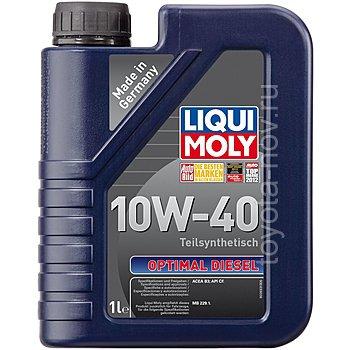 3933 - Масло моторное Liqui Moly Optimal Diesel 10W40 -  1 л