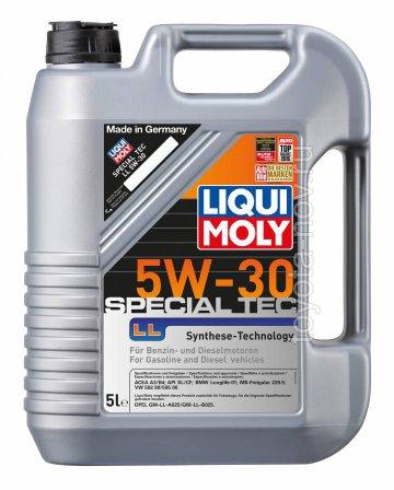 7654 - Масло моторное Liqui Moly Special Tec LL 5W30 - 4 л