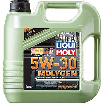 9042 - Масло моторное Liqui Moly Molygen New Generation  5W30 -  4 л