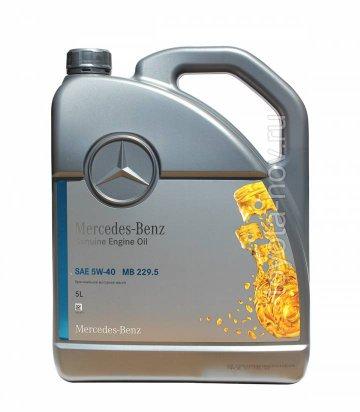A0009898301AAA4 - Масло моторное Mercedes-Benz 229.5 5W40 -  5 литров