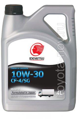 30175014-746 - Масло моторное Idemitsu Diesel 10W30 CF-4/SG -  4 литра