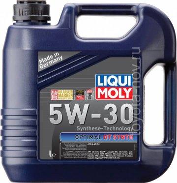 39010 - Масло моторное Liqui Moly Optimal  HT Synth 5W-30 -  АКЦИЯ - 5 литров по цене 4-х