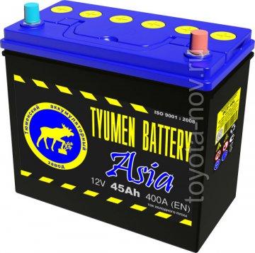6CT-45L0-ASIA - Аккумулятор 6CT45L ASIA 400А 236X128X223 mm ASIA-стандарт обратная полярность (-+)
