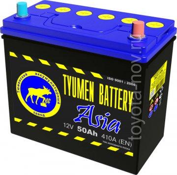 6CT-50L0-ASIA - Аккумулятор 6CT50L ASIA 410А 236X128X223 mm ASIA-стандарт обратная полярность (-+)