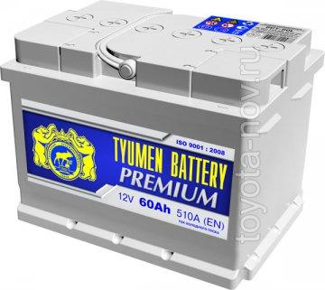 6CT-60LA1-PR - Аккумулятор 6CT-60LA PREMIUM 510А 242x175X175 mm  EURO-стандарт прямая полярность (+-) низкий