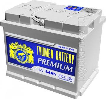 6CT-64L0-PR - Аккумулятор 6CT-64L PREMIUM 590А 242x175X190 mm  EURO-стандарт обратная полярность (-+)