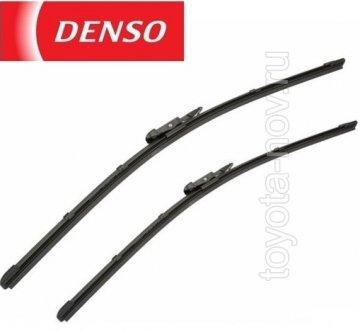 DF-019 - Щетка стеклоочистителя Denso бескаркасый тип 600, 475 mm - комплект