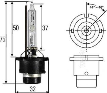 3502K - Ксеноновая лампа D2S