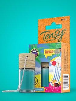"TB-07 - Ароматизатор TENSY ""Морской бриз"" бутылочка с деревянной крышкой"