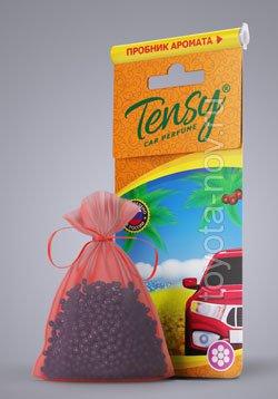 "TTE-02 - Ароматизатор TENSY ""Новая машина"" мешочек (TME-02 гранула)"