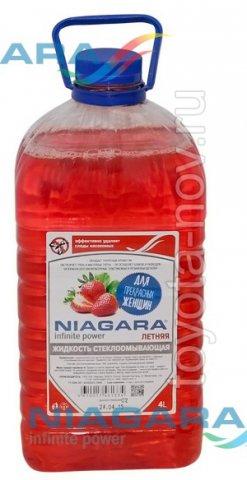 001016010008 - Жидкость стеклоомывающая ЛЕТНЯЯ 4 литра -  Клубника