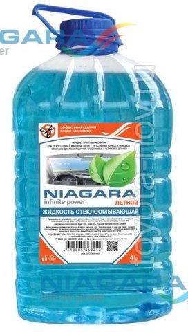 001006010008 - Жидкость стеклоомывающая ЛЕТНЯЯ 4 литра -  универсальная