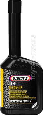 W25241 - WYNNS Diesel Clean-Up - Дизельная присадка - очиститель топливной системы прямого действия - 0,325 литра
