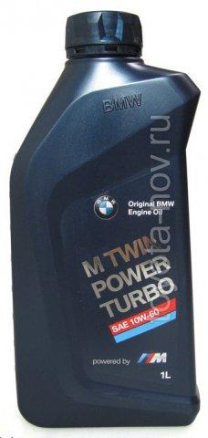 83212365924 - Масло моторное BMW 10W60 M TwinPower Turbo - 1 литр EU Германия