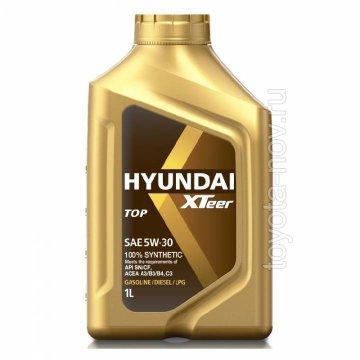 1011004 - Масло моторное HYUNDAI XTeer  TOP 5W30 - 1 литр