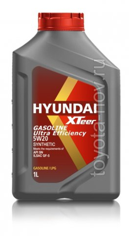 1011013 - Масло моторное HYUNDAI XTeer Gasoline   Ultra Efficiency 5W20   SN - 1 литр