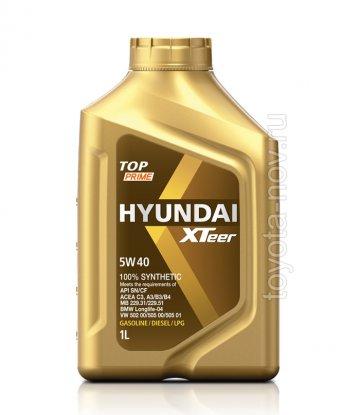 1011116 - Масло моторное HYUNDAI XTeer  TOP Prime 5W40 - 1 литр