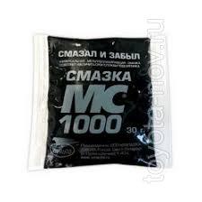 1114 - Восстанавливающая смазка МС 1000, 30г  стик-пакеты на топере (4607012402639)