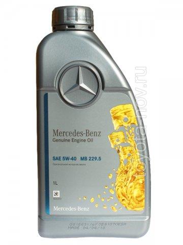 A000989790211BIFR - Масло моторное Mercedes-Benz 229.5 5W40 -  1 литр