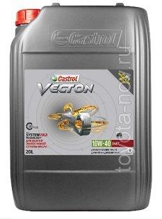 15B9D0 - Масло моторное Castrol  Vecton Long Drain 10W-40 E6/E9 -  20 литров (доставка до склада 3 дня)