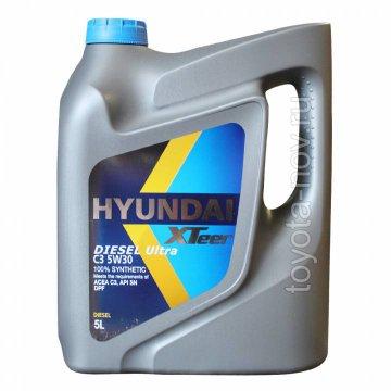 1051224 - Масло моторное HYUNDAI XTeer  Diesel Ultra C3 5W30 - 5 литров
