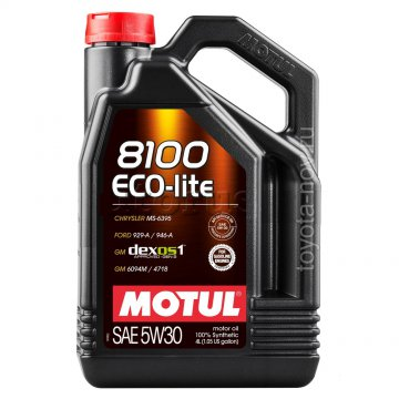 108213 - Масло моторное 8100 ECO-LITE 5W-30 - 4 литра  (API SN ; ILSAC GF-5,)
