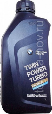 83212465854 - Масло моторное BMW  0W30 TwinPower Turbo Longlife-04 - 1 литр EU Германия