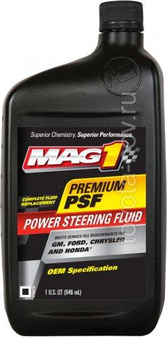 MAG62661 - Жидкость Гидроусилителя Руля MAG1 OEM PSF Power Steering Fluid (946 мл) США