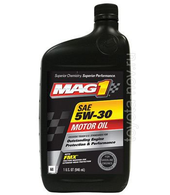 MAG61652 - Масло моторное MAG1 5W-30 Synthetic Blend - 0,946 литра США