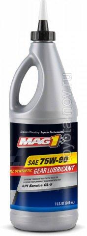 MAG62378 - Масло трансмиссионное MAG1 Full Synthetic 75W-90 GL-5 Gear Oil - 1 литр США
