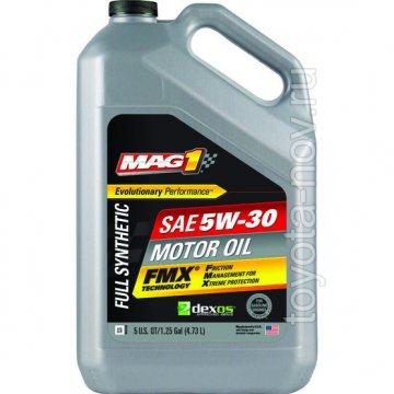 MAG69146 - Масло моторное MAG1 5W-30 Full Synthetic FMX DEXOS1 / DEXOS2 - 3,78 литра США