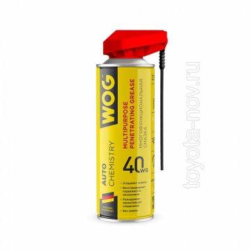 WGC0301 - Многоцелевая универсальная проникающая смазка WG-40, 335 мл