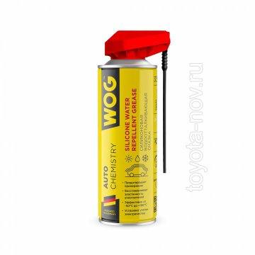 WGC0311 - Силиконовая водоотталкивающая смазка WOG, 335 мл