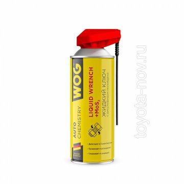 WGC0306 - Жидкий ключ с дисульфидом молибдена WOG, 520 мл