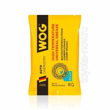 WGC0615 - Противозадирная литиевая высокотемпературная синяя смазка с комплексом EP-присадок WOG, 80 гр